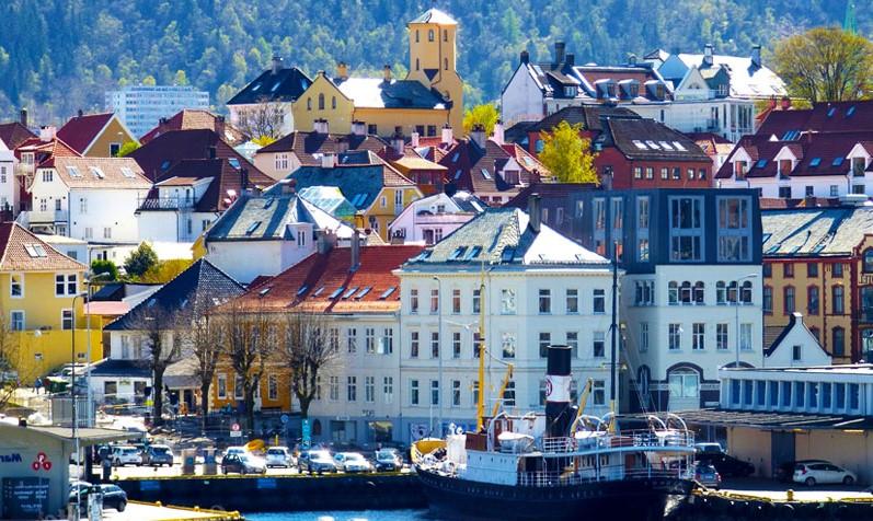 Il porto di Bergen